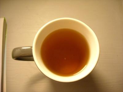 Thé noir Orange Douce : Tasse première infusion