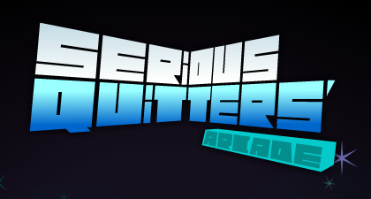 Serious Quitters Arcade (Campaign Logo)